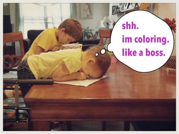 Color like a boss