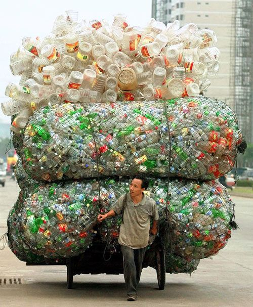 This is real recycling