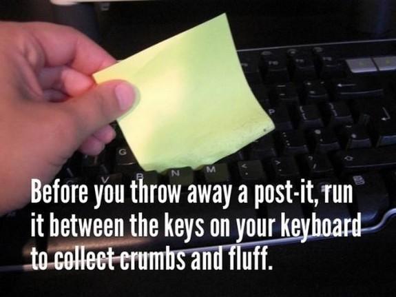 Post it keyboard