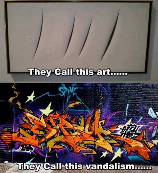 Art vs vandalism