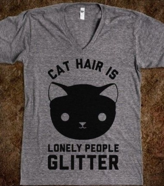 Lonely people glitter
