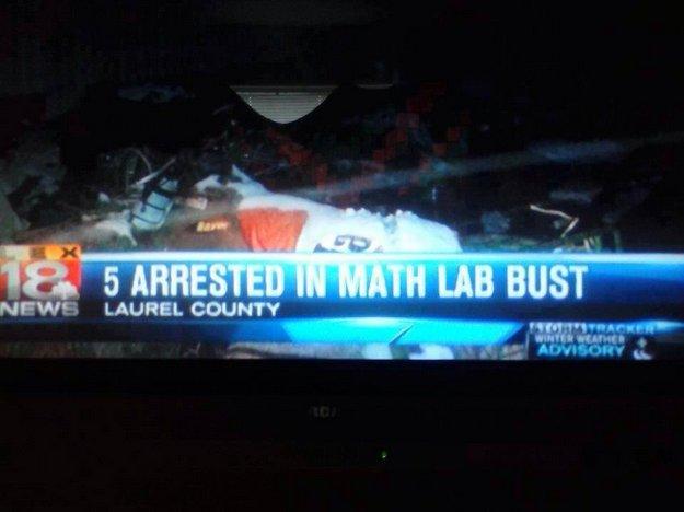 math lab bust