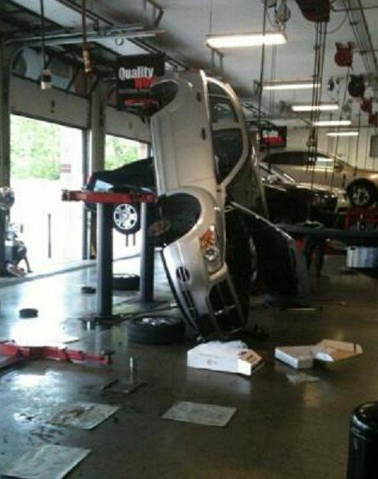 Car oops