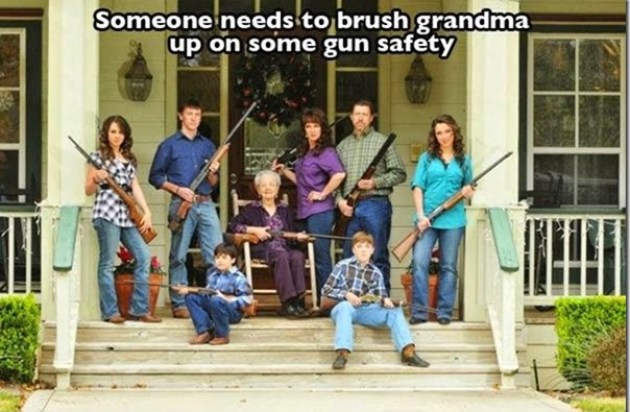 Watch out for Grandma