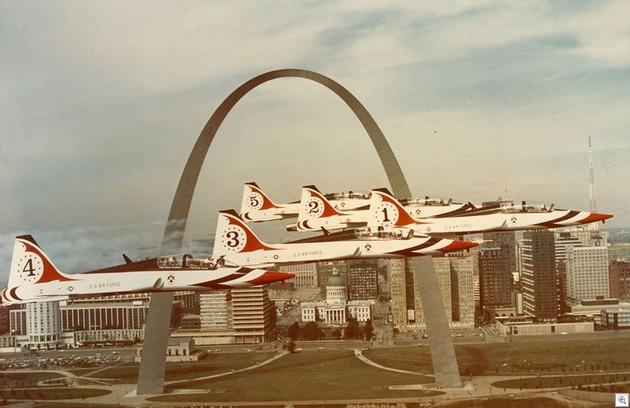 Thunderbirds arch