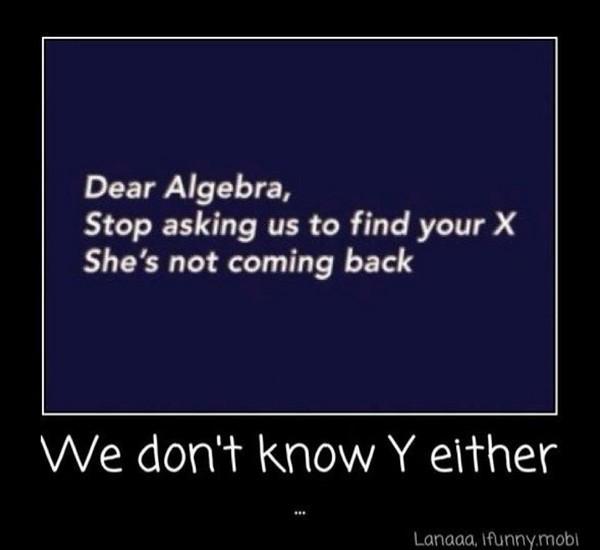 Dear algebra2