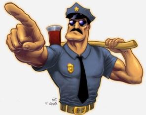 Cop pointer