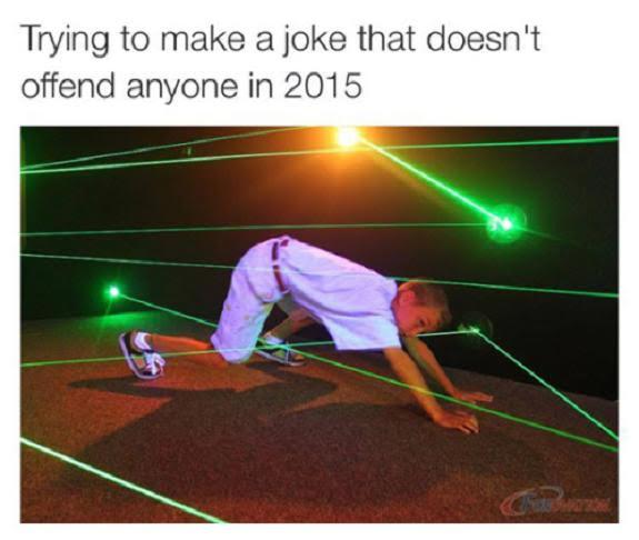 Joke offend
