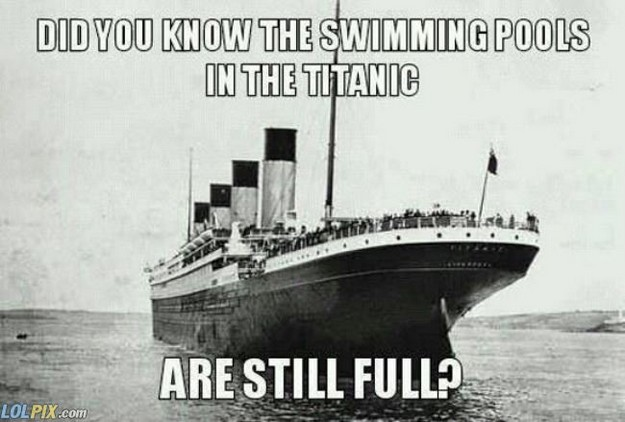 Titanic pools