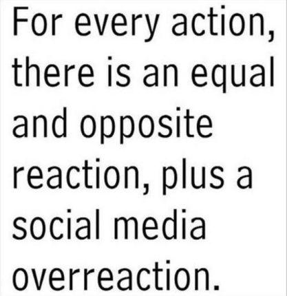 Social media physics