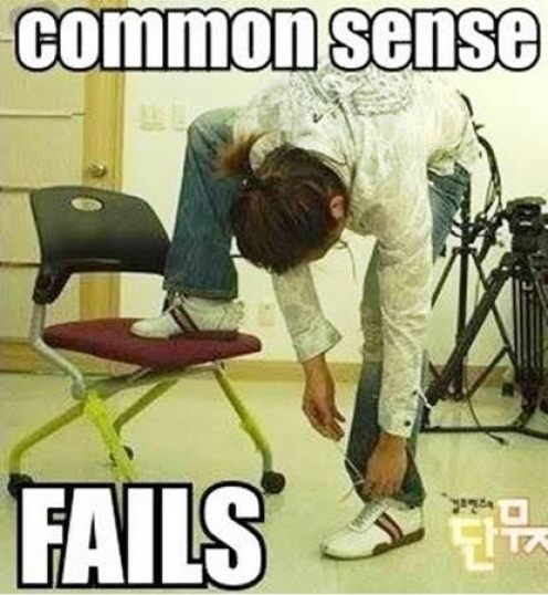 Common Sense Fail