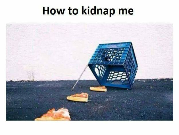 How to kidnap me