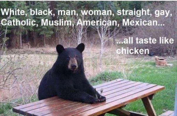 bearly-racist