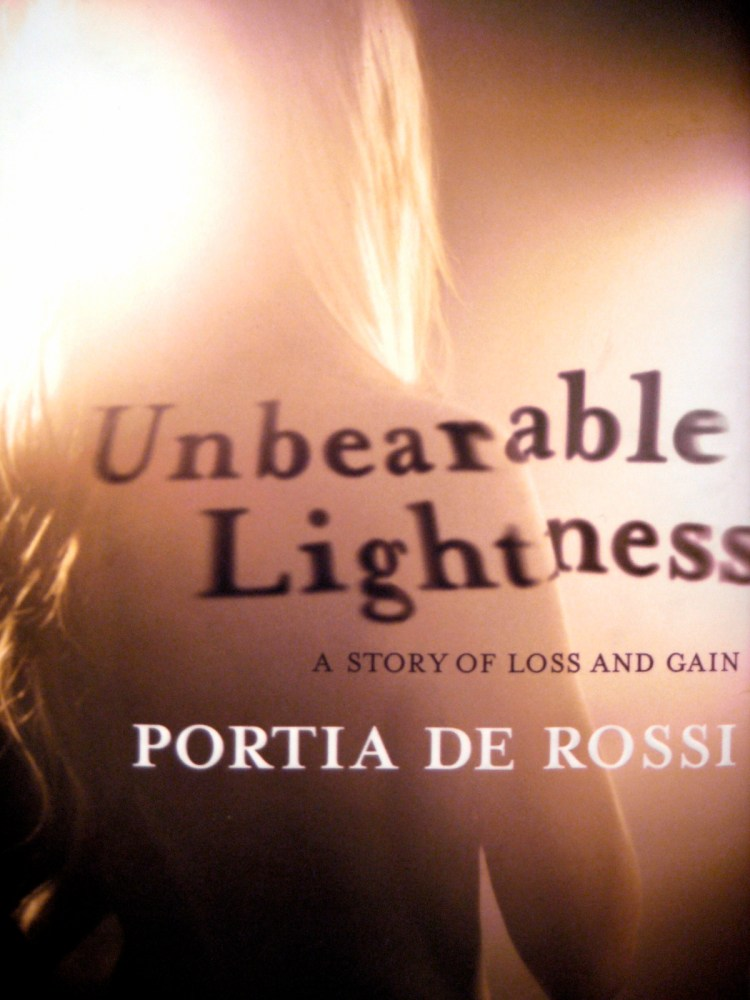 Unbearable Lightness by Portia de Rossi (1/2)