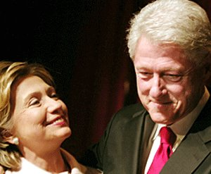 Mr. and Mrs. Clinton
