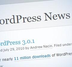 WordPress 3.0.1 listo para actualizar