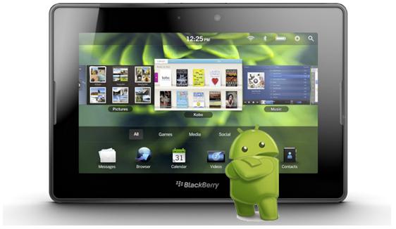 PlayBook de RIM correrá Android