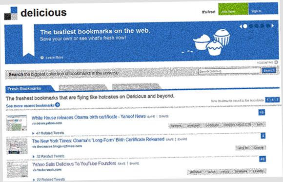 Delicious es comprado por los fundadores de Youtube