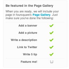 En Foursquare ya puedes crear páginas para empresas