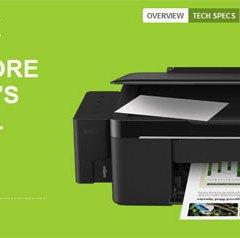 EPSON L200, impresora con mecanismo de tanques de tinta para impresiones de bajo costo
