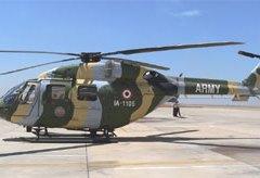 La India venderá helicópteros al Ecuador