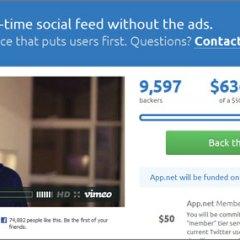 App.net, el servicio que pretende reemplazar a Twitter, obtuvo $500,000 en fondos