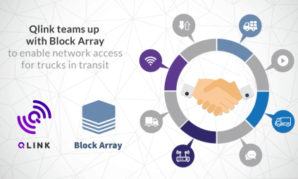 Block Array QLINK partnership