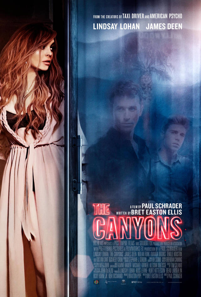 Lindsay Lohan e James Deen em The Canyons de Paul Schrader
