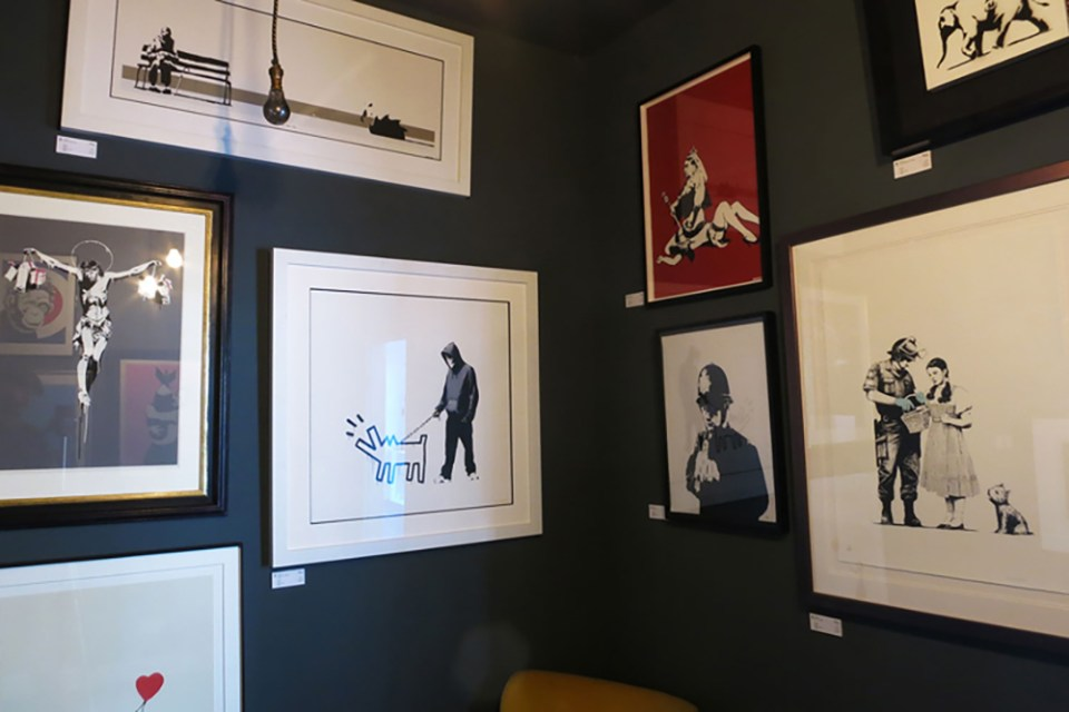 Mostra permanente de Banksy em Londres