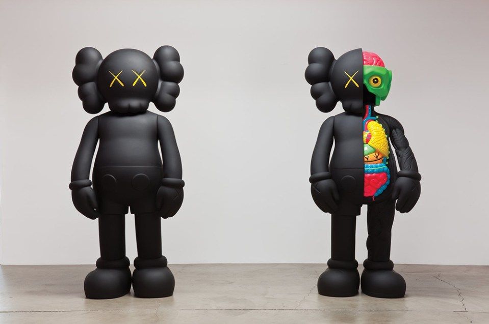 Mostra de Kaws Where The End Starts