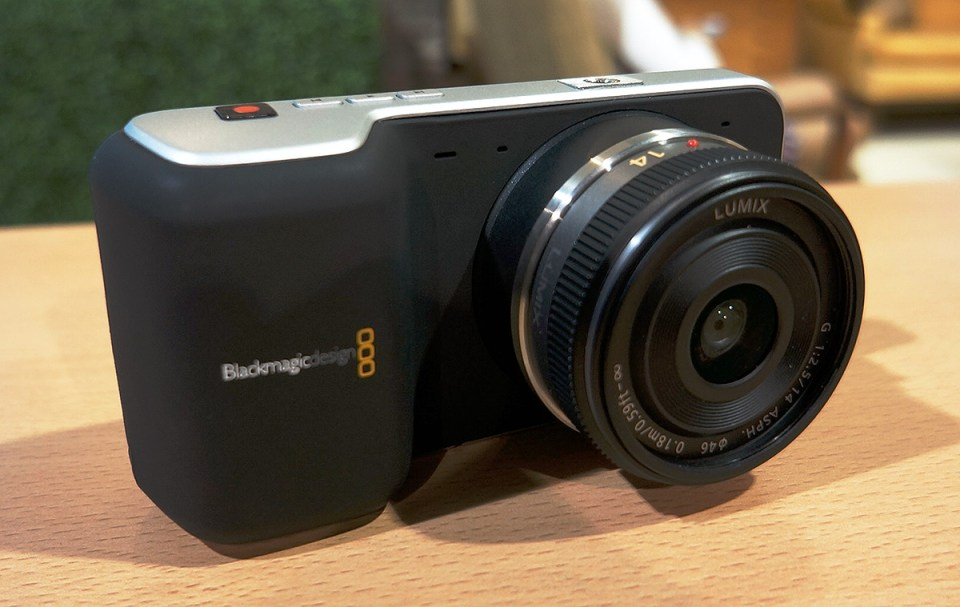 Blackmagic Pocket Cinema Camera Produto Usado
