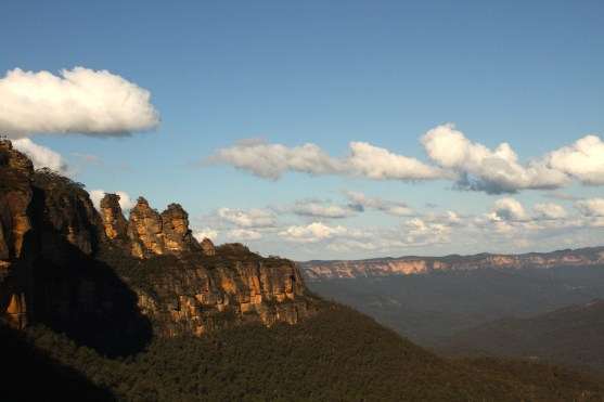 The iconic Three Sisters