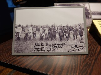 Photograph signed by Kaiser Wilhelm
