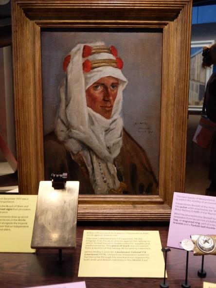 Portrait of T.E. Lawrence