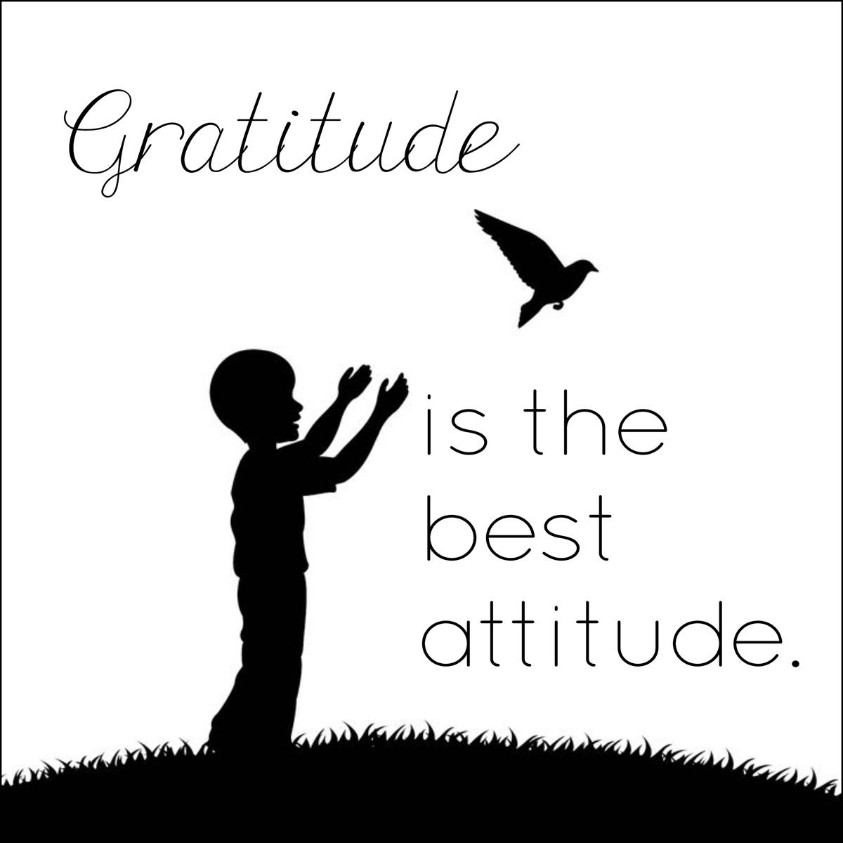 Gratitude Word Art Freebie