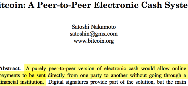 Bitcoin S Payments Are Not Peer To Peer Bits On Blocks