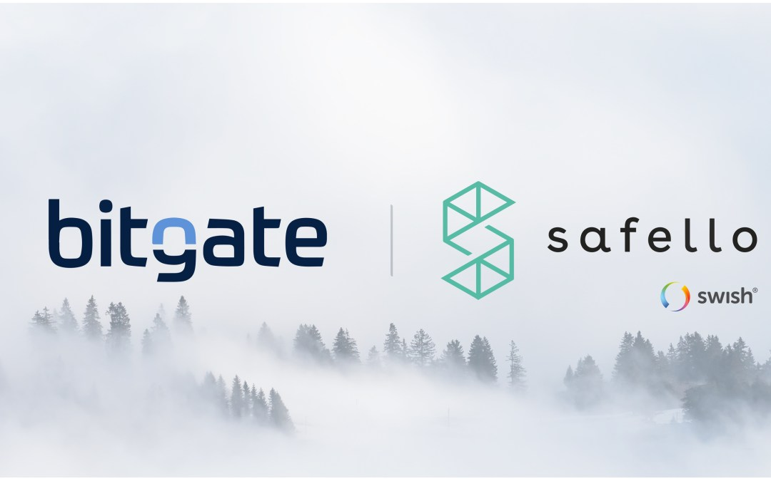 BitGate launches in Sweden with Safello