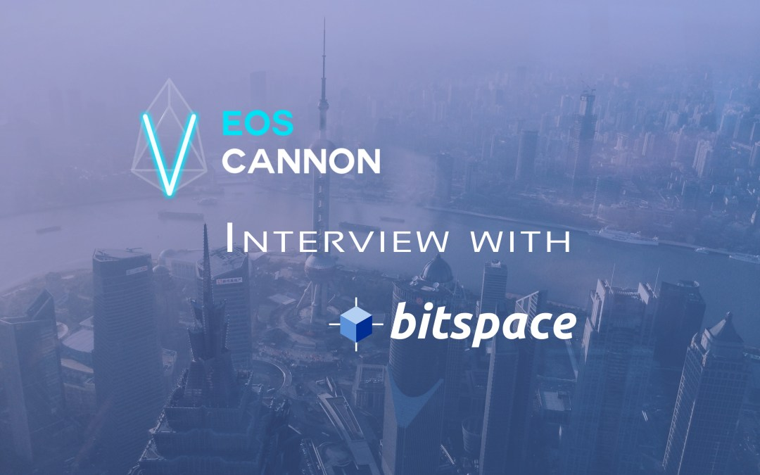 EOS Cannon interview with BitSpace (English Translation)