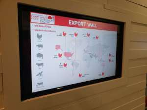 Food and Farm Discover - Export Wall