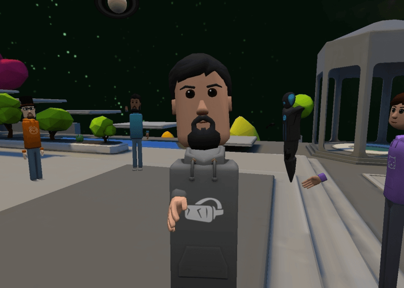 AltspaceVR Keeps Teams Together While Practicing Social Distancing Bit Space Development Ltd. social distancing