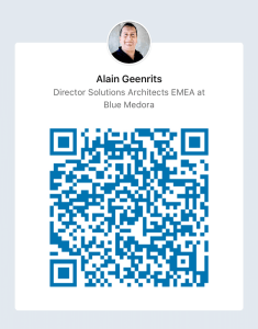 My Linkedin profile QR code