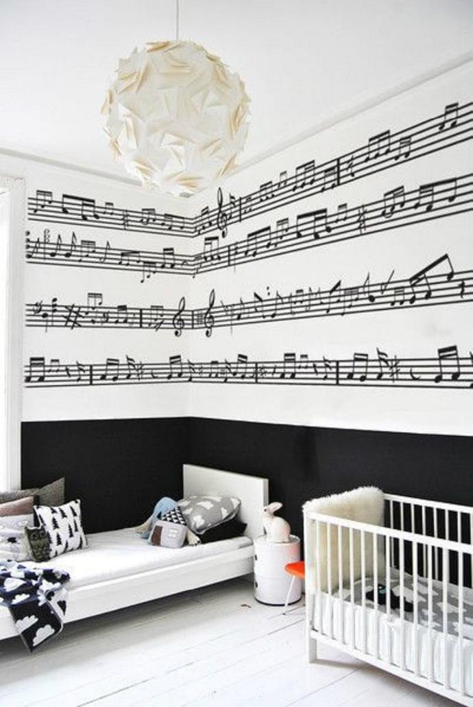 Renovasi Kamar tidur anak musik