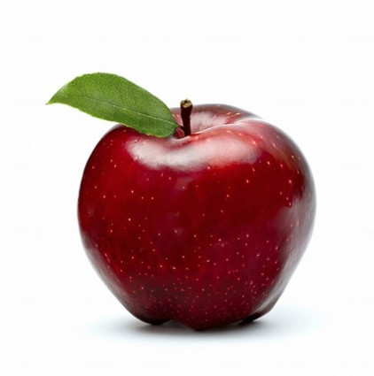 fresh_red_apple_stock_photo_167147