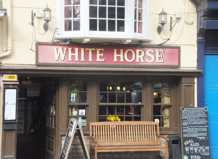 The White Horse in Oxford