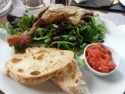 Confit Duck at 1855 Oxford