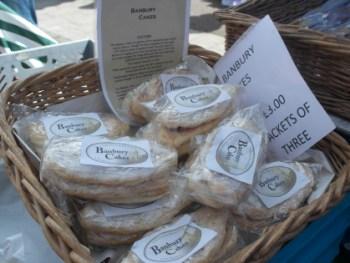North Parade Farmers Market - Banbury Cakes