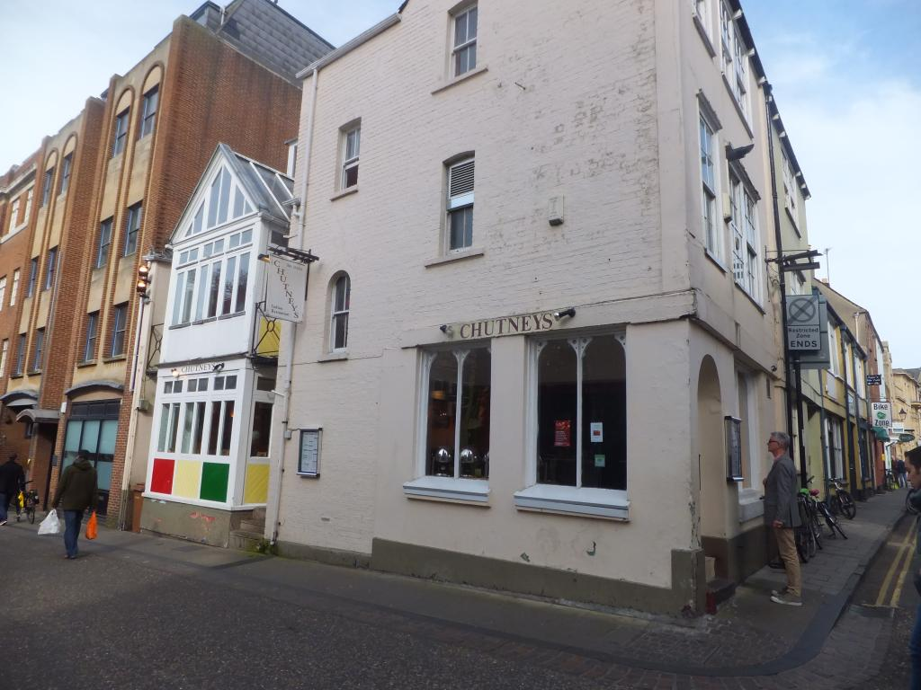 Chutneys in Oxford