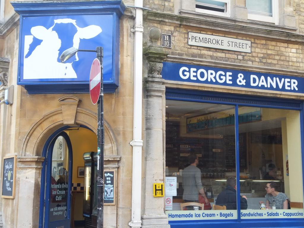 George and Danver in Oxford