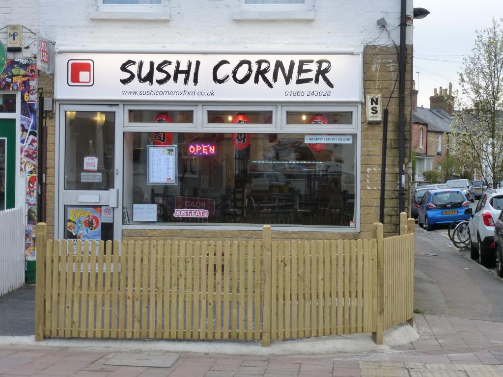 Sushi Corner in Oxford