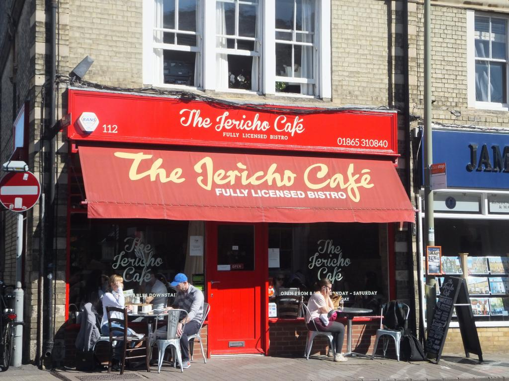 The Jericho Cafe in Oxford
